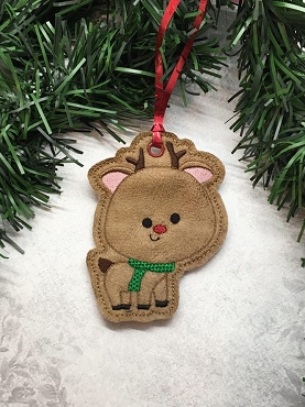 Reindeer Ornament for Christmas Hop!